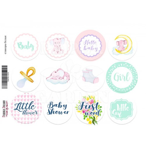 LITTLE ELEPHANT 02 - Journal Stickers