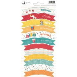 HAPPY BIRTHDAY - Party Stickers 01