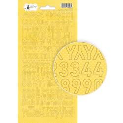 HAPPY BIRTHDAY - Alphabet stickers 02