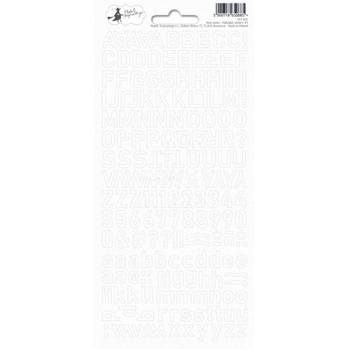 NEW MOON - Alphabet stickers 01
