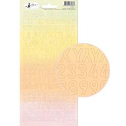 SUNSHINE - Alphabet stickers 01