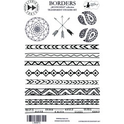 Borders - transparentní