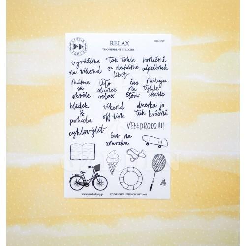 RELAX - české transparentní