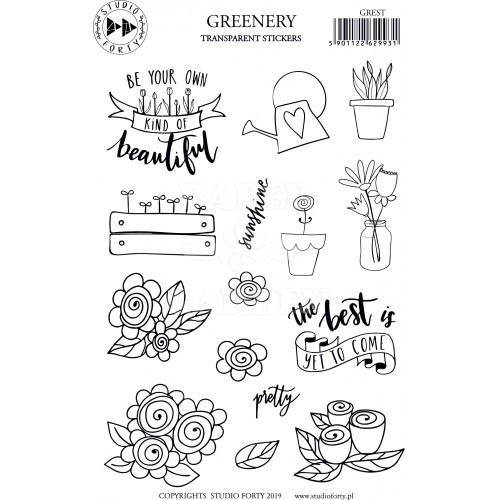 DAYDREAM - Greenery - transparentní