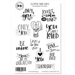 Love Me Do - transparentní